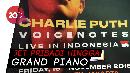 Konser di Indonesia, Ini Daftar Permintaan Charlie Puth