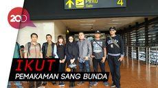 Roro Fitria Terbang ke Yogyakarta Pagi Ini