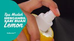 Tips Mudah Mengambil Sari Buah Lemon