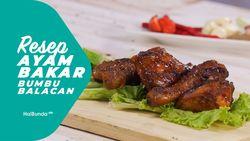 Resep Ayam Bakar Bumbu Balacan