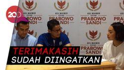 Disemprot Menteri Susi, Sandiaga: Itu Suara Rakyat