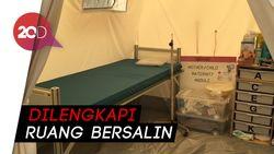 Fasilitas Wah Posko Kesehatan PMI di Lokasi Bencana