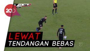 Gol Tendangan Geledek Rooney Menangkan DC United