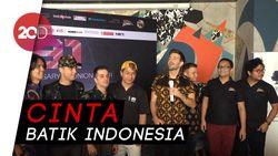Kenakan Batik, Boyband A1 Akui Batik Indonesia Keren