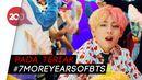 Netizen Bahagia BTS Perpanjang Kontrak dengan Big Hit Entertainment