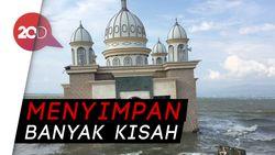 Saksi Bisu Tsunami Palu, Masjid Terapung Ramai Didatangi Warga