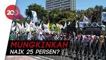 Upah Buruh 2019: Pengusaha Setuju Naik 8%, Buruh Minta 25%