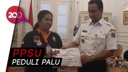 Pasukan Oranye Sumbang Rp 26 Juta untuk Korban Bencana Sulteng