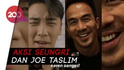 Aksi Seungri Promosikan Film Indonesia The Night Comes For Us