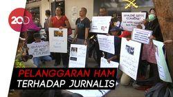 Aksi Simpati Jurnalis Indonesia untuk Khashoggi
