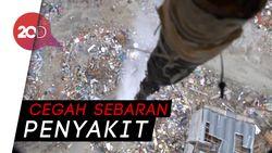 Wilayah Terdampak Likuifaksi Diwater-bombing