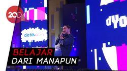 Pandji Pragiwaksono Bongkar Kunci Sukses Berkarya di dYouthizen