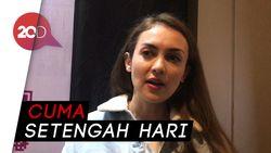 Film 3 Dara 2, Syuting Tersingkat Rianti Cartwright
