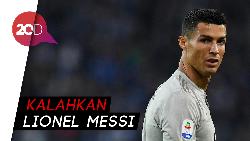 Cristiano Ronaldo Cetak 400 Gol di Liga Top Eropa