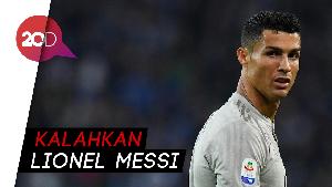 Cristiano Ronaldo Tercepat Cetak 400 Gol di Liga Top Eropa