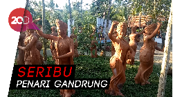 Menpar Arief Yahya Resmikan Taman Gandrung Terakota