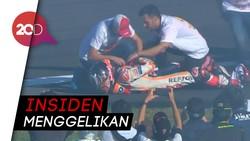 Momen Marquez Dislokasi Bahu saat Rayakan Gelar Juara