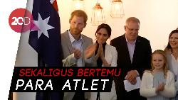 Pangeran Harry dan Meghan Sapa Anak Berkebutuhan Khusus di Sydney