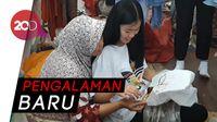 Serunya Mahasiswa Luar Negeri Membatik di Madura