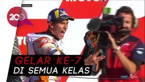Marc Marquez Juara Dunia MotoGP 2018