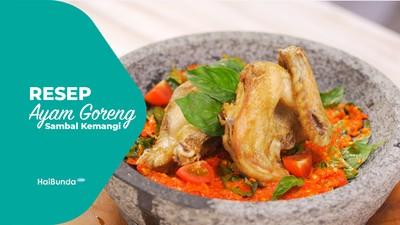 Resep Ayam Goreng Sambal Kemangi