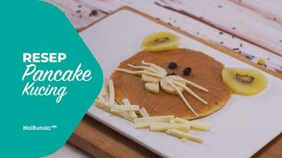 Resep Pancake Kucing
