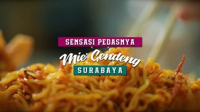 Sensasi Pedasnya Mie Gendeng, Surabaya
