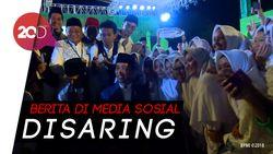 Puncak Hari Santri Nasional, Jokowi Ajak Santri Waspadai Hoax!