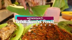 Bebek Goreng Sambel Pencit ini Konon Merupakan Pelopor Makanan Menu Bebek di Surabaya