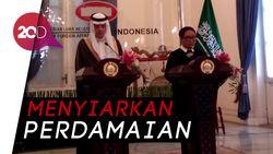 Indonesia-Saudi Terus Perjuangkan Kemerdekaan Palestina