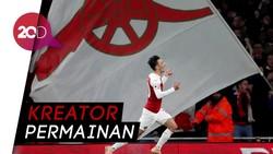 Mesut Oezil Bikin Arsenal Berbahaya!