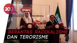 Bertemu Menlu Saudi, Retno Bahas Soal Teroris