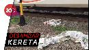 Pulang Belanja, Wanita Tewas Tertabrak Kereta di Cakung