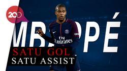 Aksi Cemerlang Mbappe, Kokohkan PSG Hingga Pekan ke-11