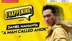 Transformasi Daniel Mananta dalam Film A Man Called Ahok