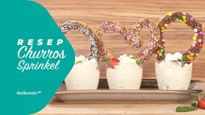 Resep Churros Sprinkle