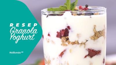 Resep Granola Yoghurt