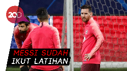 Jadinya Messi Bisa Main Melawan Inter atau Tidak?