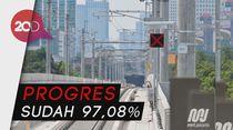 Nyaris Rampung, Begini Penampakan Stasiun MRT Jakarta