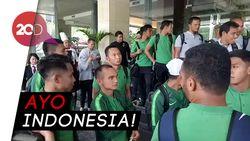 Timnas Bertolak ke Singapura Menatap Piala AFF