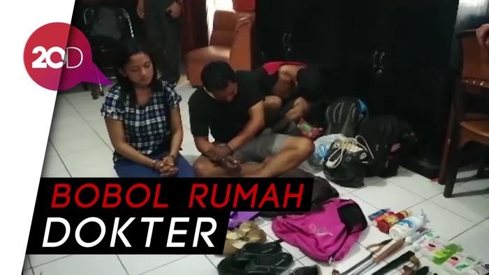 Polisi Tangkap Pasutri Sindikat Pembobol Rumah Kosong di Pasuruan