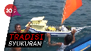 Nelayan Banyuwangi Gelar Ritual Petik Laut Rebo Wekasan