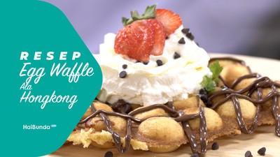 Resep Egg Waffle ala Hong Kong