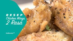 Resep Chicken Wings 2 Rasa