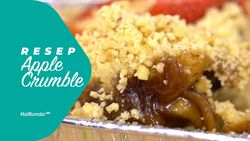 Resep Apple Crumble