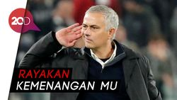 Selebrasi Provokatif Mourinho