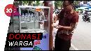 Semangat Berbagi via Etalase Nasi Bungkus Gratis di Bandung