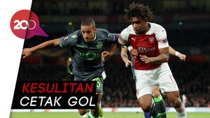 Arsenal yang Gagal Robohkan Tembok Sporting