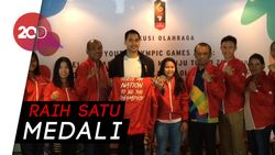 Cerita Atlet Muda Indonesia di Youth Olympics Games 2018