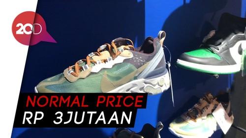 Beruntungnya! Beli Sepatu dengan Harga Rp 1000